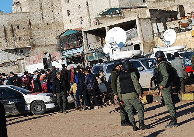 」武裝分子撤出阿勒頗東部