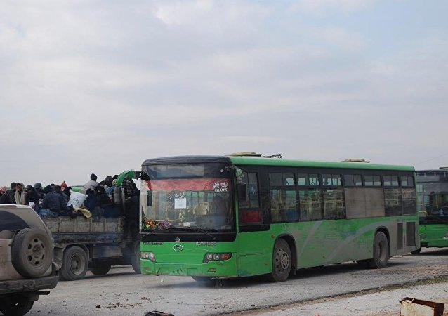 武裝分子送離阿勒頗為敘利亞其他地區實施停火制度提供可能