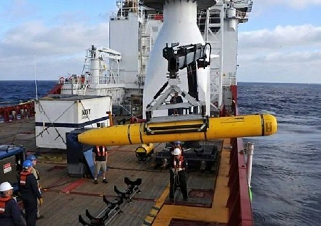 中國國防部:中美雙方順利移交無人機潛航器
