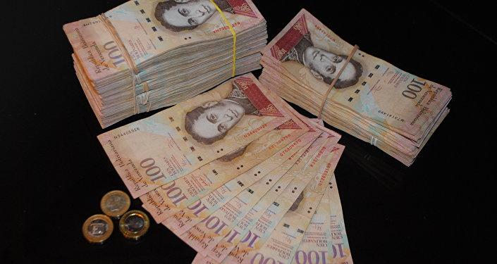 委内瑞拉总统宣布发行10万玻利瓦尔面额纸币