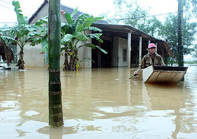 媒体:越南台风灾害死亡人数升至89人