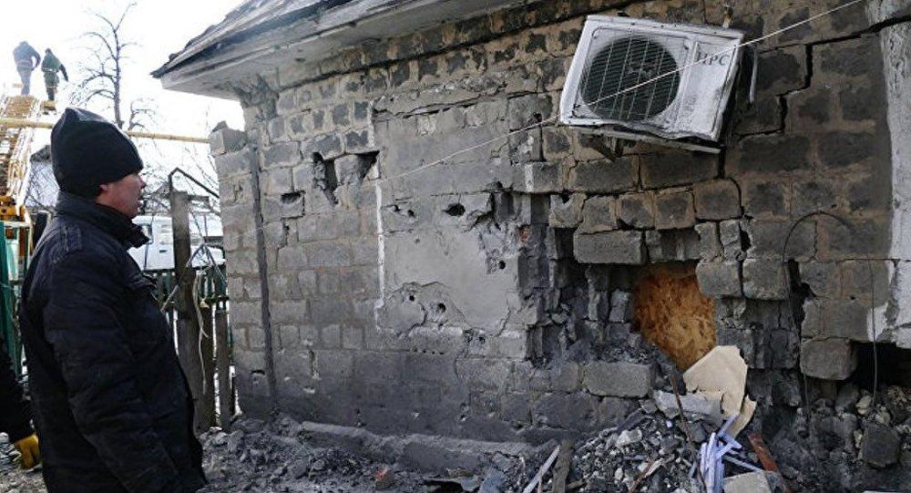 盧甘斯克表示烏方一晝夜12次破壞停火狀態