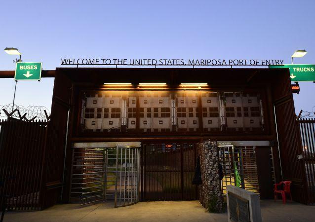 媒体:美国打算拨款2000万美元帮助墨西哥驱逐非法移民