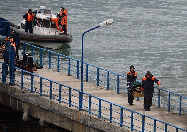 俄国防部望26日能找到失事的图-154飞机