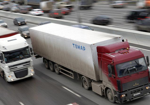 俄运输公司:俄中货运汽车运输手续办理的简化制度对双方有利