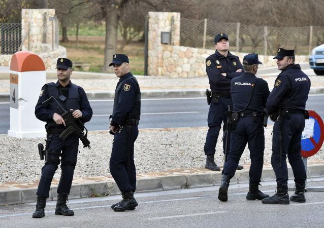 西班牙警察(資料圖片)