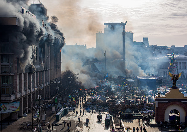 烏克蘭前總理:前總統在獨立廣場抗議期間過於軟弱