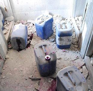 敘利亞恐怖分子的化武