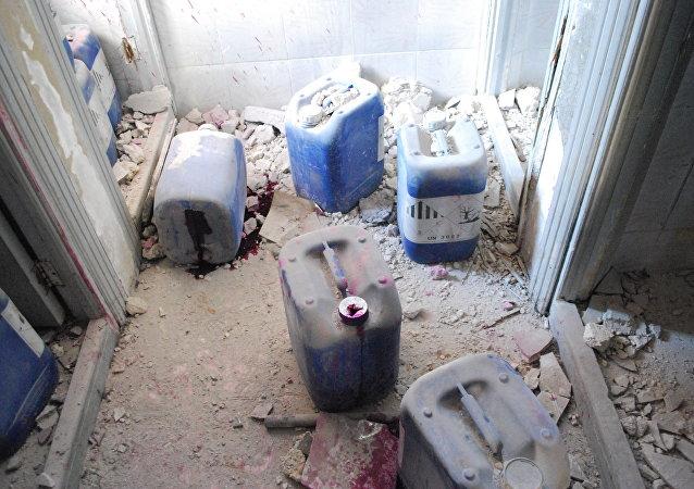 敘利亞化學武器
