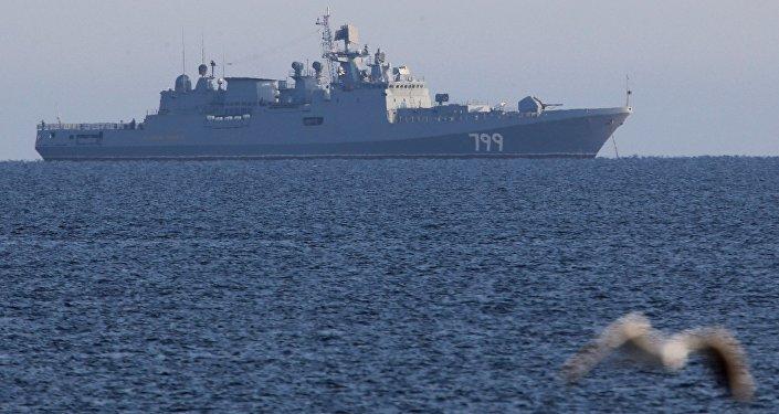 俄最新护卫舰将在新年过后继续接受测试