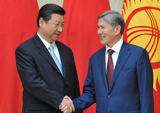 習近平:中吉兩國要加強反恐和執法安全合