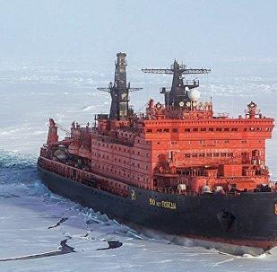 「勝利50週年」號核動力破冰船