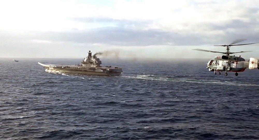 """海军上将库兹涅佐夫""""号航母"""