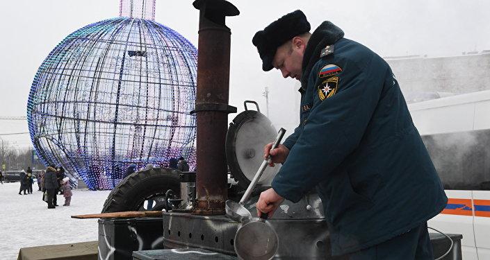 莫斯科经历了125年来最寒冷的冬夜