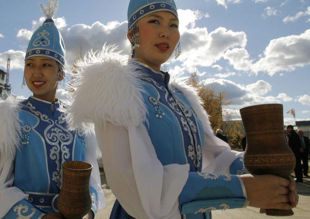 俄雅庫特民族服裝