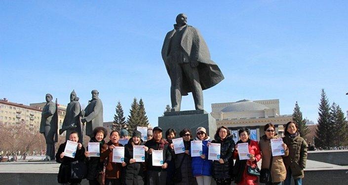 新西伯利亚,列宁广场