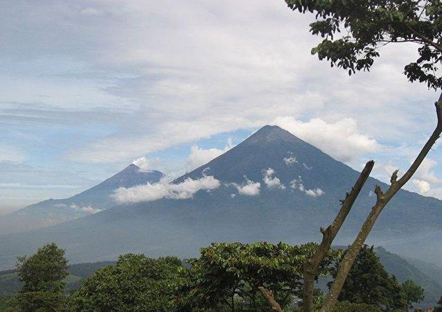 危地马拉的火山