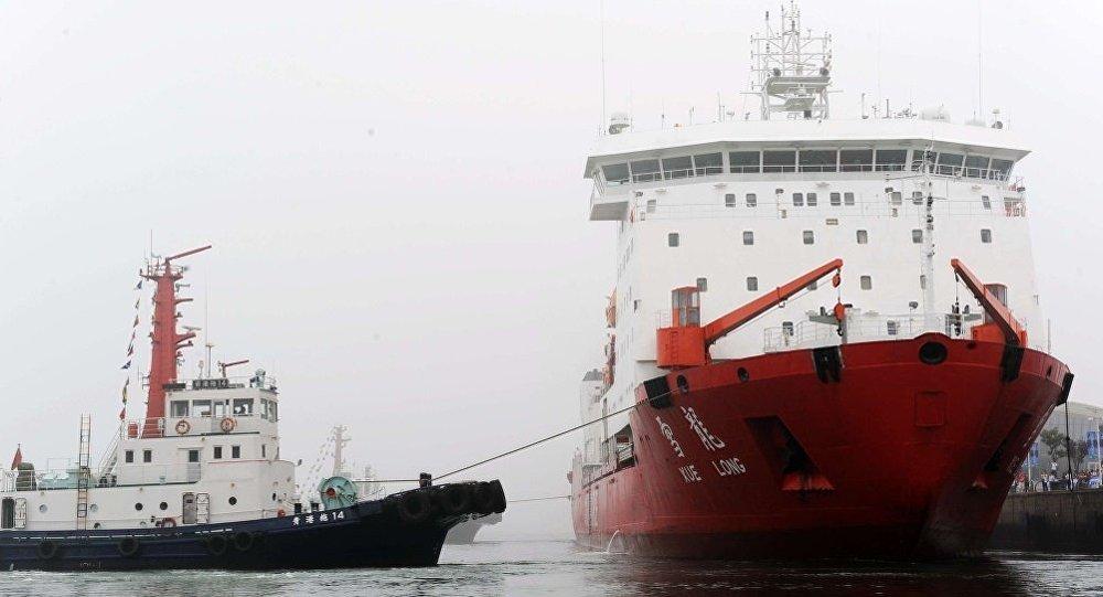 中國海洋局:「雪龍」號存先天不足,需新破冰船