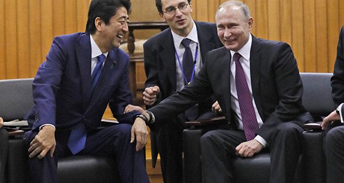 普京与安倍晋三