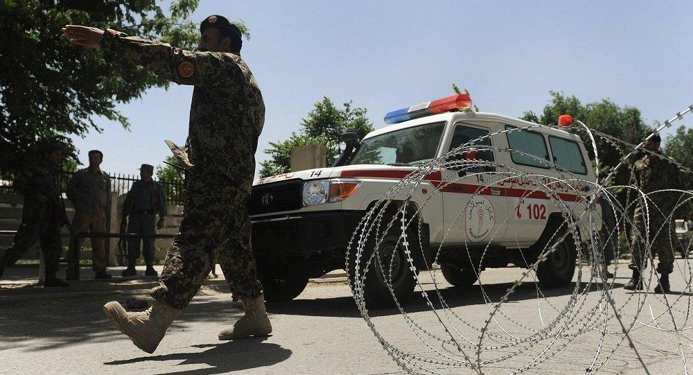 非政府组织:喀布尔投票站爆炸造成29人受伤 1名儿童死亡
