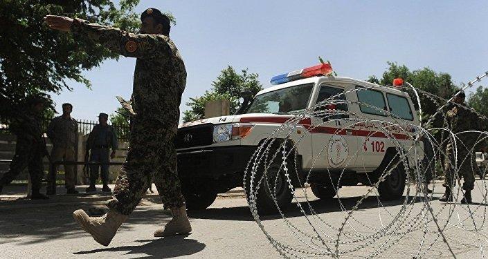 非政府組織:喀布爾投票站爆炸造成29人受傷 1名兒童死亡