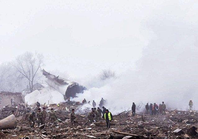 吉检察院:飞机空难后查明吉机场无视频监视系统