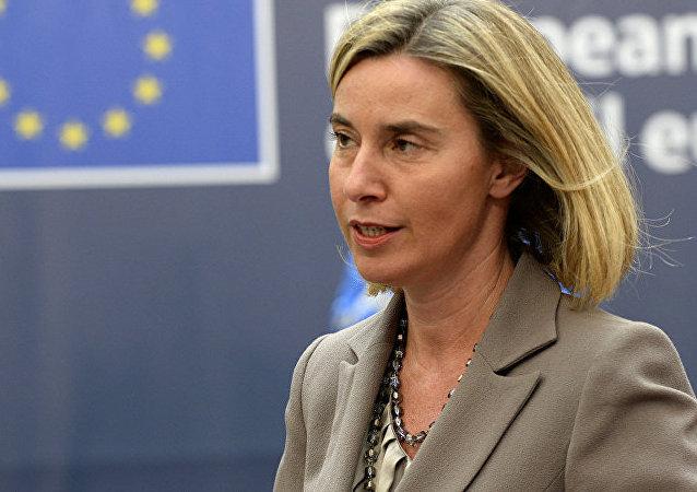 欧盟外交与安全政策高级代表:欧方赞同习近平对自由贸易的表态