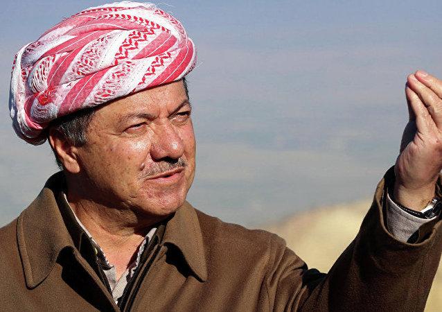 伊拉克庫爾德自治區領導人馬蘇德·巴爾扎尼