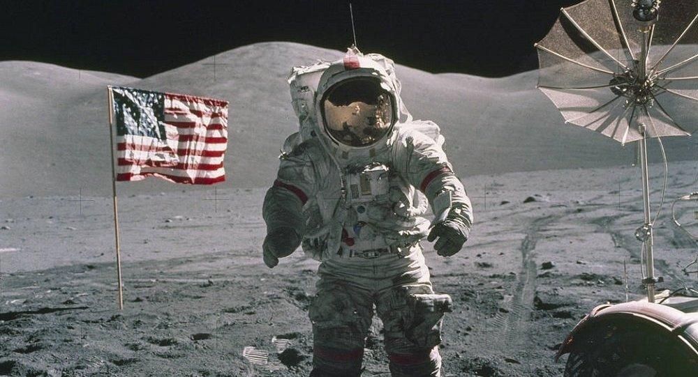 美国宇航员尤金∙塞尔南