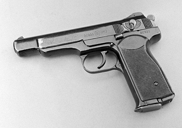 一名日本武器愛好者在家中收藏最大一批手槍/資料圖片/