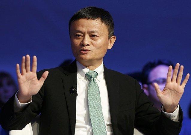 馬雲在全球富豪榜上排名攀升