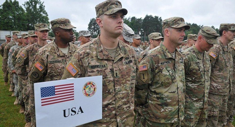 美国军人在乌克兰