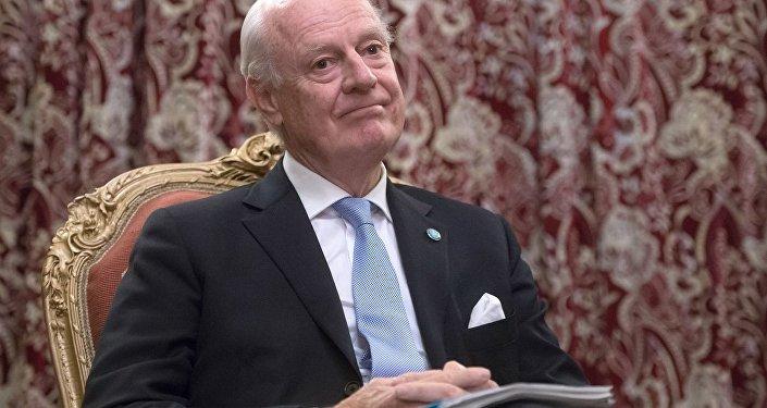 联合国叙利亚问题特使斯塔凡·德米斯图拉