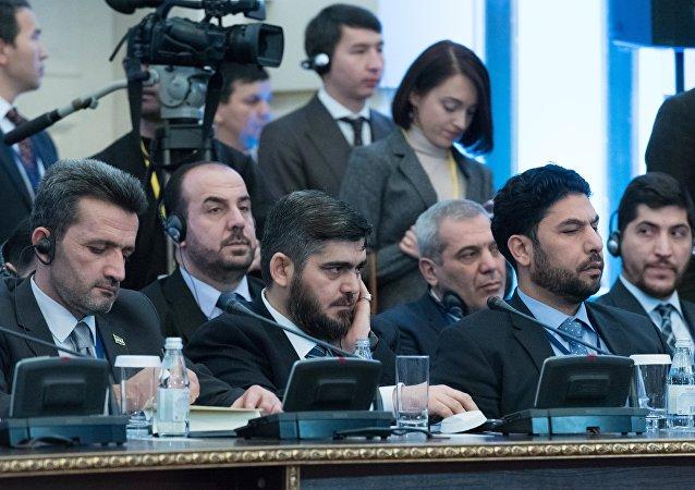 大马士革代表团加入阿斯塔纳谈判 谈判已恢复
