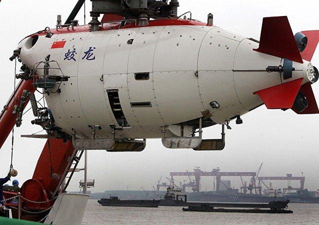 中国成功研制出第二台深海载人潜水器 万米作业系统研发已启动