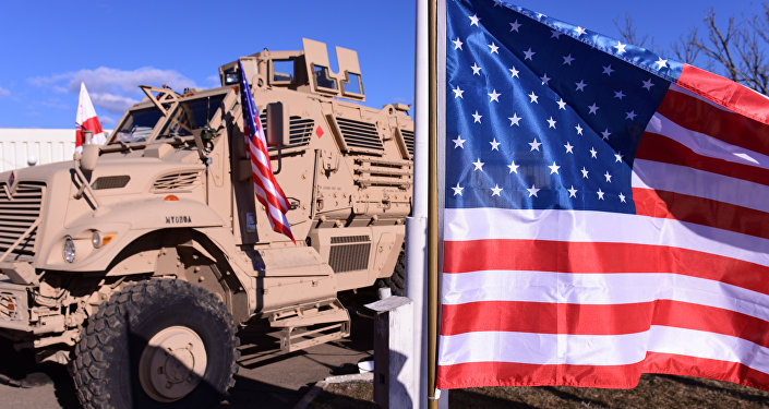 媒體:美軍裝甲車自德國運往波蘭途中遭遇「交通事故」