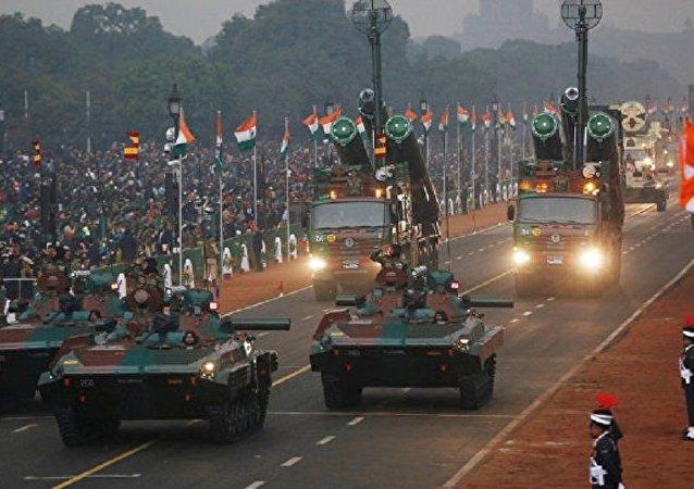 印度首都舉行國慶節閱兵