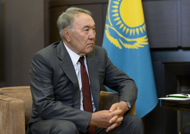 哈萨克斯坦总统努尔苏丹· 纳扎尔巴耶夫