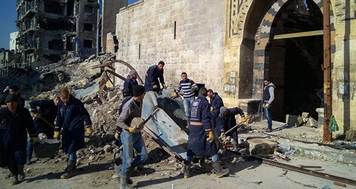 中方認為安全是啓動敘利亞戰後重建的條件