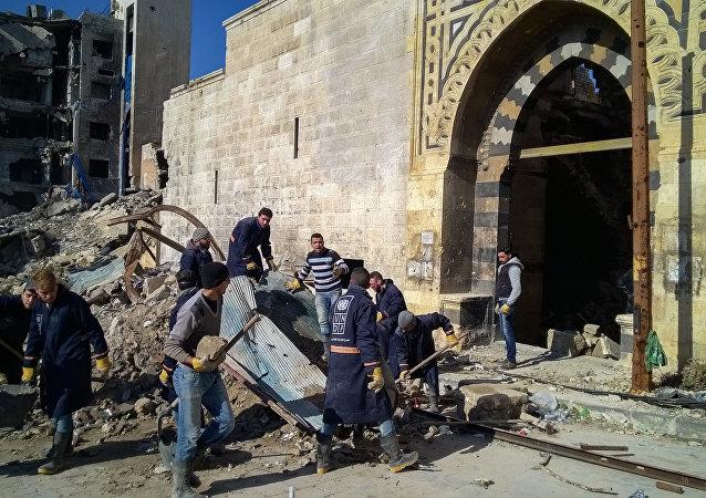 俄方希望叙利亚战后重建能够成为国际社会的共同任务