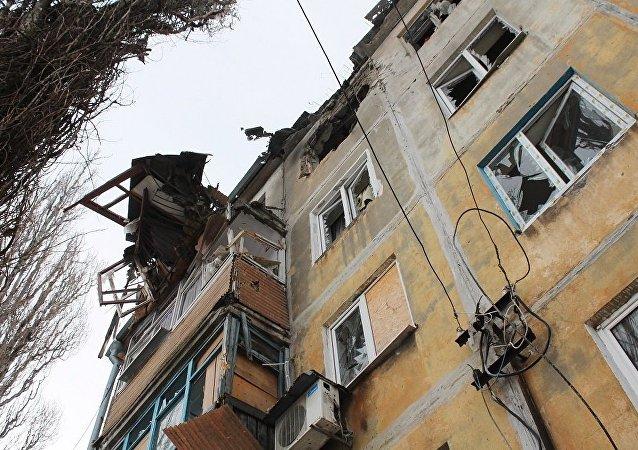 頓巴斯衝突以來已經導致頓涅茨克人民共和國近4400人死亡