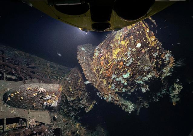 亞速爾群島附近發現二戰德國潛艇