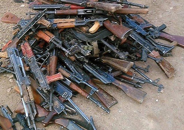 叙军官:叙军夺取的IS武器库中发现北约国家最新型武器