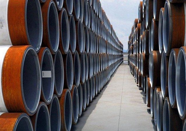 """俄气公司正在浅水位进行""""土耳其流""""第二条管线的准备工作"""