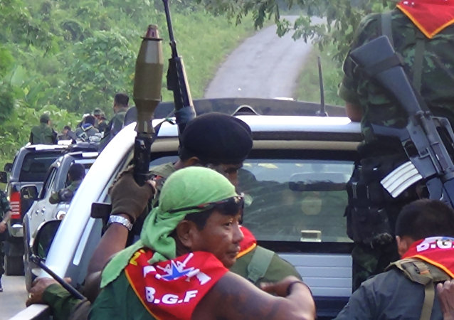 中國外交部:中緬同意繼續就緬北局勢保持密切溝通