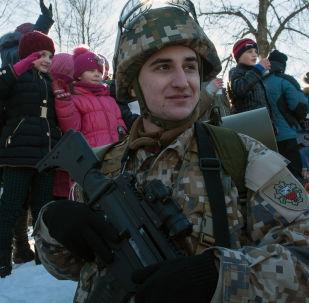 拉托維亞軍人
