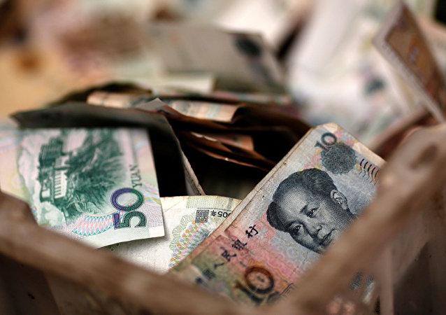 中国外管局:4月外汇储备规模小幅下降