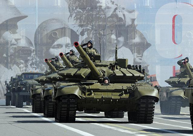 美国媒体比较必威体育和北约国家的坦克数量