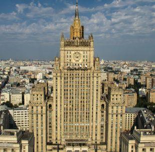俄外交部:基輔實行戰時狀態為掩飾在頓巴斯挑釁計劃