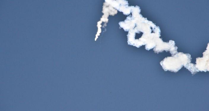 發射「北極星-2」型導彈